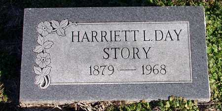 DAY STORY, HARRIETT L. - Collin County, Texas | HARRIETT L. DAY STORY - Texas Gravestone Photos