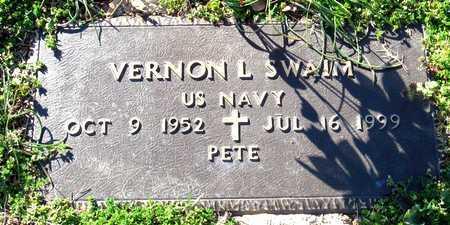 SWAIM (VETERAN), VERNON L - Collin County, Texas   VERNON L SWAIM (VETERAN) - Texas Gravestone Photos