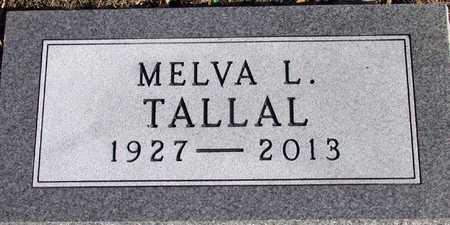 TALLAL, MELVA L. - Collin County, Texas | MELVA L. TALLAL - Texas Gravestone Photos