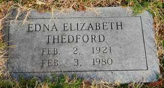 PURNELL THEDFORD, EDNA ELIZABETH - Collin County, Texas | EDNA ELIZABETH PURNELL THEDFORD - Texas Gravestone Photos