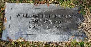 THEDFORD, WILLIAM H - Collin County, Texas | WILLIAM H THEDFORD - Texas Gravestone Photos
