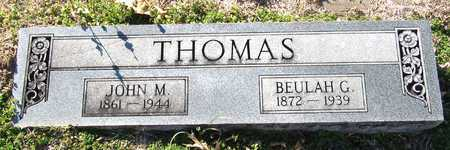 THOMAS, JOHN M. - Collin County, Texas | JOHN M. THOMAS - Texas Gravestone Photos