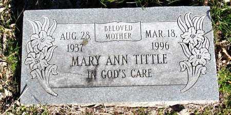 TITTLE, MARY ANN - Collin County, Texas | MARY ANN TITTLE - Texas Gravestone Photos