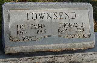 TOWNSEN, LOU EMMA - Collin County, Texas | LOU EMMA TOWNSEN - Texas Gravestone Photos