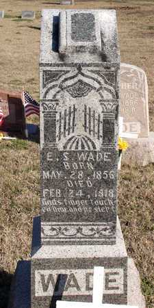 WADE, E. S. - Collin County, Texas | E. S. WADE - Texas Gravestone Photos