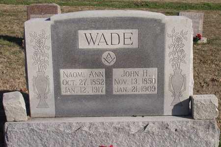 WADE, NAOMI ANN - Collin County, Texas | NAOMI ANN WADE - Texas Gravestone Photos