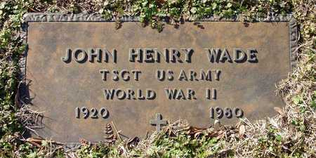 WADE (VETERAN WWII), JOHN HENRY - Collin County, Texas | JOHN HENRY WADE (VETERAN WWII) - Texas Gravestone Photos