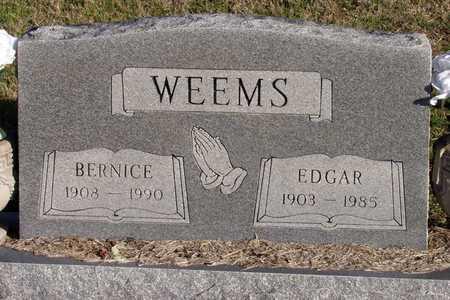 WEEMS, BERNICE - Collin County, Texas | BERNICE WEEMS - Texas Gravestone Photos