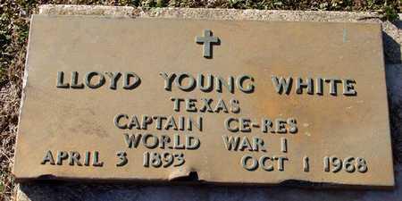 WHITE (VETERAN WWI), LLOYD YOUNG - Collin County, Texas | LLOYD YOUNG WHITE (VETERAN WWI) - Texas Gravestone Photos