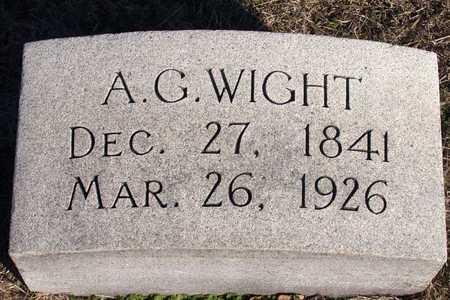 WIGHT, A. G. - Collin County, Texas   A. G. WIGHT - Texas Gravestone Photos