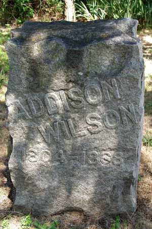 WILSON (2ND STONE), ADDISON - Collin County, Texas | ADDISON WILSON (2ND STONE) - Texas Gravestone Photos