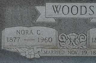 WOODS, NORA C - Collin County, Texas | NORA C WOODS - Texas Gravestone Photos
