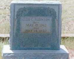 ROBINSON, CLEO CLIFTON - Concho County, Texas   CLEO CLIFTON ROBINSON - Texas Gravestone Photos