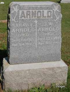 ARNOLD, SARAH E. - Cooke County, Texas | SARAH E. ARNOLD - Texas Gravestone Photos