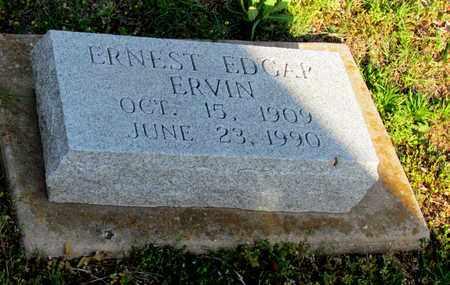 ERVIN, ERNEST EDGAR - Cooke County, Texas | ERNEST EDGAR ERVIN - Texas Gravestone Photos