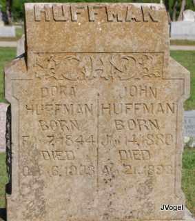 HUFFMAN, JOHN - Cooke County, Texas | JOHN HUFFMAN - Texas Gravestone Photos