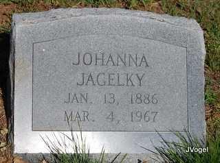 JAGELKY, JOHANNA - Cooke County, Texas | JOHANNA JAGELKY - Texas Gravestone Photos