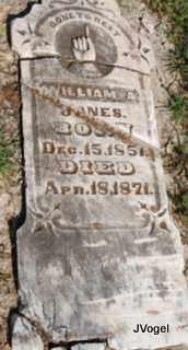 JONES, WILLIAM A. - Cooke County, Texas | WILLIAM A. JONES - Texas Gravestone Photos
