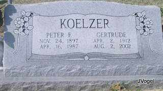 KOELZER, PETER FRANK 'PETE' - Cooke County, Texas | PETER FRANK 'PETE' KOELZER - Texas Gravestone Photos