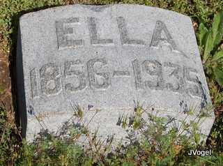 MOSS, ELLA - Cooke County, Texas | ELLA MOSS - Texas Gravestone Photos