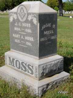 MOSS, JOSIE D. - Cooke County, Texas | JOSIE D. MOSS - Texas Gravestone Photos