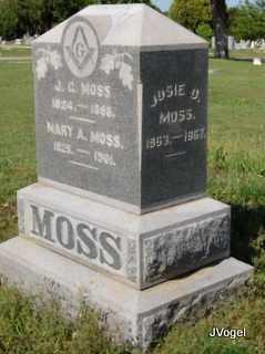 MOSS, JOSIE D. - Cooke County, Texas   JOSIE D. MOSS - Texas Gravestone Photos