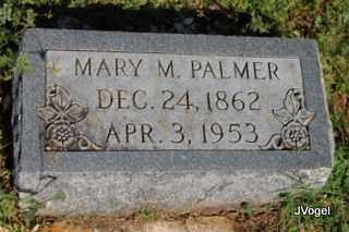 PALMER, MARY M. - Cooke County, Texas | MARY M. PALMER - Texas Gravestone Photos