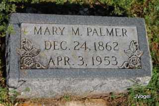 PORTER PALMER, MARY M. - Cooke County, Texas | MARY M. PORTER PALMER - Texas Gravestone Photos
