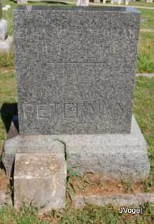 PETERMAN, ELLA W. - Cooke County, Texas   ELLA W. PETERMAN - Texas Gravestone Photos