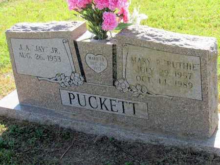 "PUCKETT, MARY R. ""RUTHIE"" - Cooke County, Texas | MARY R. ""RUTHIE"" PUCKETT - Texas Gravestone Photos"
