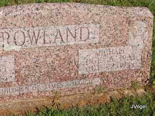 ROWLAND, MICHAEL LYNN - Cooke County, Texas | MICHAEL LYNN ROWLAND - Texas Gravestone Photos