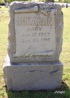 SHEARON, MARY POSEY - Cooke County, Texas | MARY POSEY SHEARON - Texas Gravestone Photos