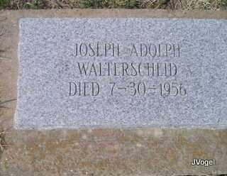 WALTERSCHEID, JOSEPH ADOLPH - Cooke County, Texas | JOSEPH ADOLPH WALTERSCHEID - Texas Gravestone Photos