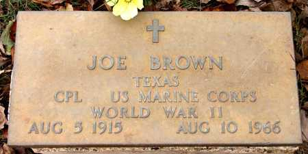 BROWN (VETERAN WWII), JOE - Dallas County, Texas | JOE BROWN (VETERAN WWII) - Texas Gravestone Photos