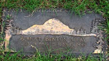 CLAY, BERNICE - Dallas County, Texas | BERNICE CLAY - Texas Gravestone Photos
