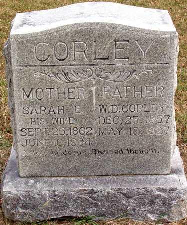 CORLEY, SARAH E. - Dallas County, Texas | SARAH E. CORLEY - Texas Gravestone Photos