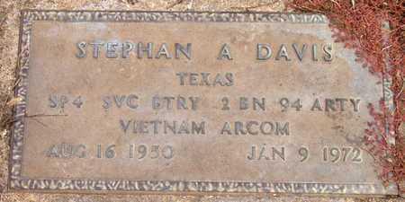 DAVIS (VETERAN VIET), STEPHAN A - Dallas County, Texas | STEPHAN A DAVIS (VETERAN VIET) - Texas Gravestone Photos