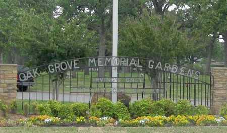 *ENTRANCE,  - Dallas County, Texas    *ENTRANCE - Texas Gravestone Photos