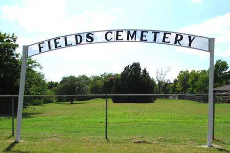 *ENTRANCE, FIELDS CEMETERY - Dallas County, Texas   FIELDS CEMETERY *ENTRANCE - Texas Gravestone Photos