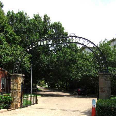 *ENTRANCE, GREENWOOD CEMETERY - Dallas County, Texas | GREENWOOD CEMETERY *ENTRANCE - Texas Gravestone Photos