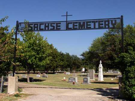 *ENTRANCE, SACHSE CEMETERY - Dallas County, Texas | SACHSE CEMETERY *ENTRANCE - Texas Gravestone Photos