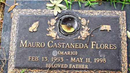 FLORES, MAURO CASTANEDA - Dallas County, Texas   MAURO CASTANEDA FLORES - Texas Gravestone Photos