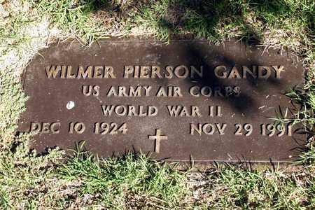 GANDY (VETERAN WWII), WILMER PIERSON - Dallas County, Texas | WILMER PIERSON GANDY (VETERAN WWII) - Texas Gravestone Photos