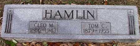 HAMLIN, TOM C. - Dallas County, Texas | TOM C. HAMLIN - Texas Gravestone Photos