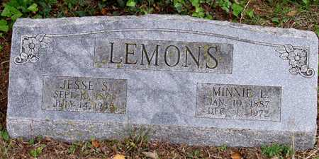 LEMONS, JESSE S. - Dallas County, Texas | JESSE S. LEMONS - Texas Gravestone Photos