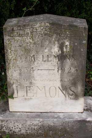 LEMONS, W. M. - Dallas County, Texas   W. M. LEMONS - Texas Gravestone Photos