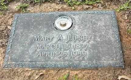 CASH LIPSEY, MARY ANNETTE - Dallas County, Texas   MARY ANNETTE CASH LIPSEY - Texas Gravestone Photos