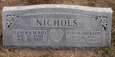 ROY NICHOLS, ELLNORA M. - Dallas County, Texas | ELLNORA M. ROY NICHOLS - Texas Gravestone Photos