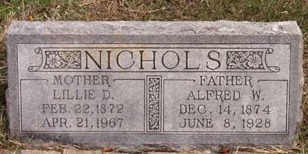 NICHOLS, ALFRED W. - Dallas County, Texas | ALFRED W. NICHOLS - Texas Gravestone Photos