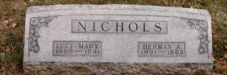 NICHOLS, LUCY MARY - Dallas County, Texas | LUCY MARY NICHOLS - Texas Gravestone Photos